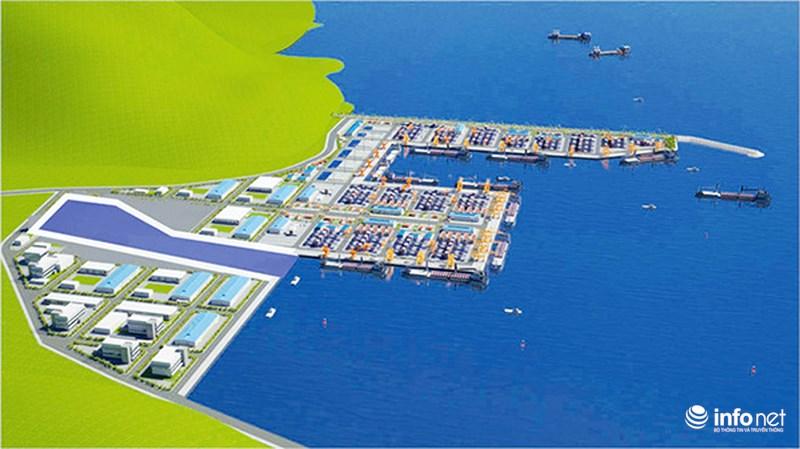 Phối cảnh Dự án đầu tư xây dựng cảng Liên Chiểu
